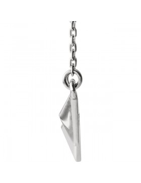 Sterling Silver Pyramid 16-18