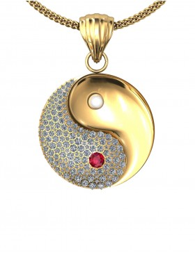 Yin Yang 1 Pendant Type G
