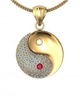 Yin Yang 1 Pendant Type G