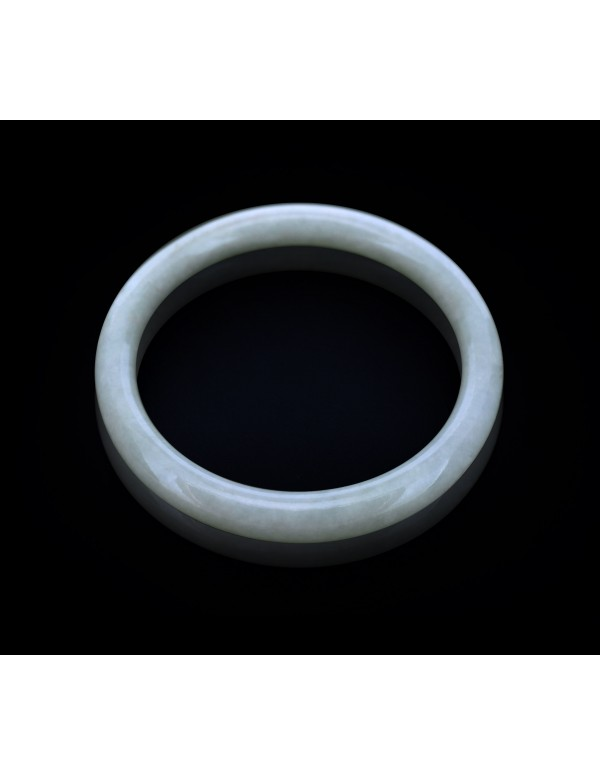 Natural Jadeite Type A-Jade Bangle (JB0061SM)