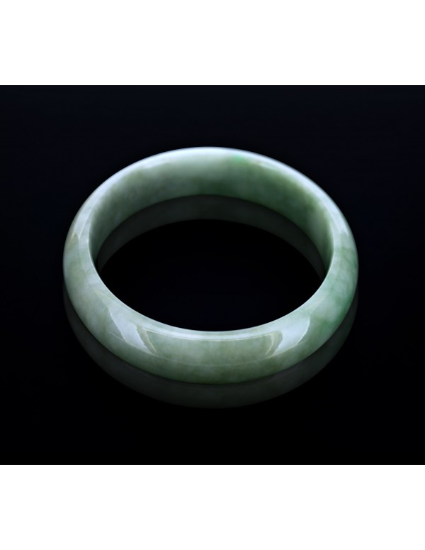 Natural Jadeite Type A-Jade Bangle (JB1013SM)