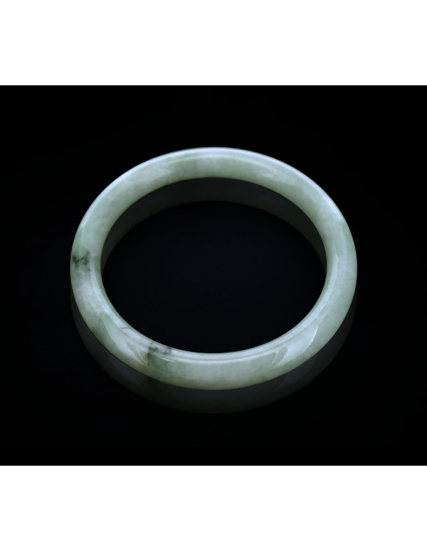 Natural Jadeite Type A-Jade Bangle (JB0062SM)