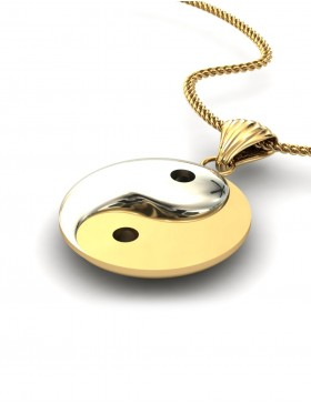 Yin Yang 1 Pendant Type C