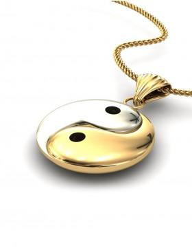 Yin Yang 1 Pendant Type D