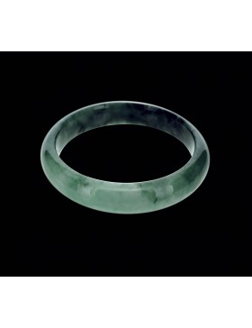 Natural Jadeite (Type A-Jade) Bangle (JB0002SM)