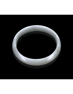 Natural Jadeite Type A-Jade Bangle (JB0012SM)