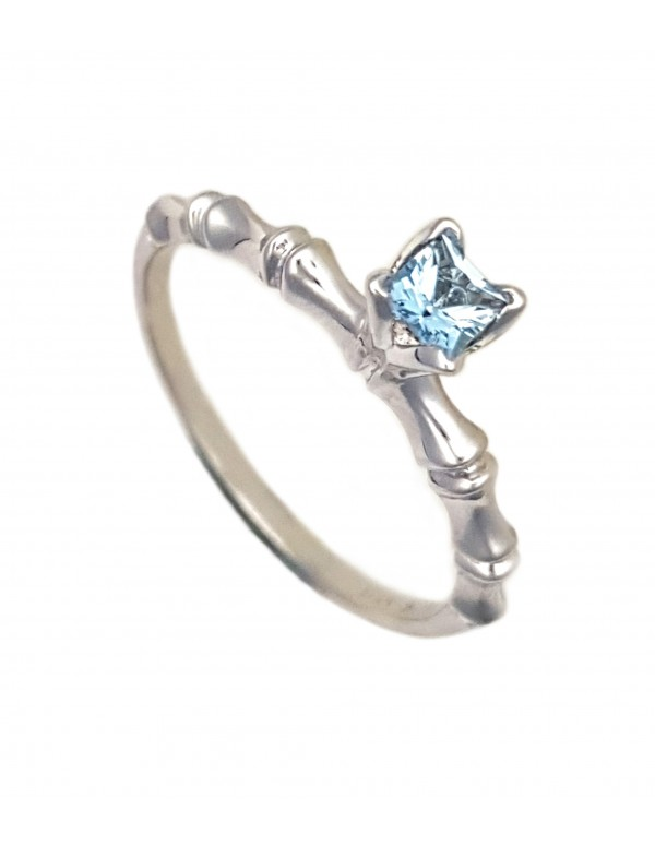 bamboo-2-circle-ring-rhodium-plated-with-3-5mm-square-aquamarine-in-tulipsetr-setting
