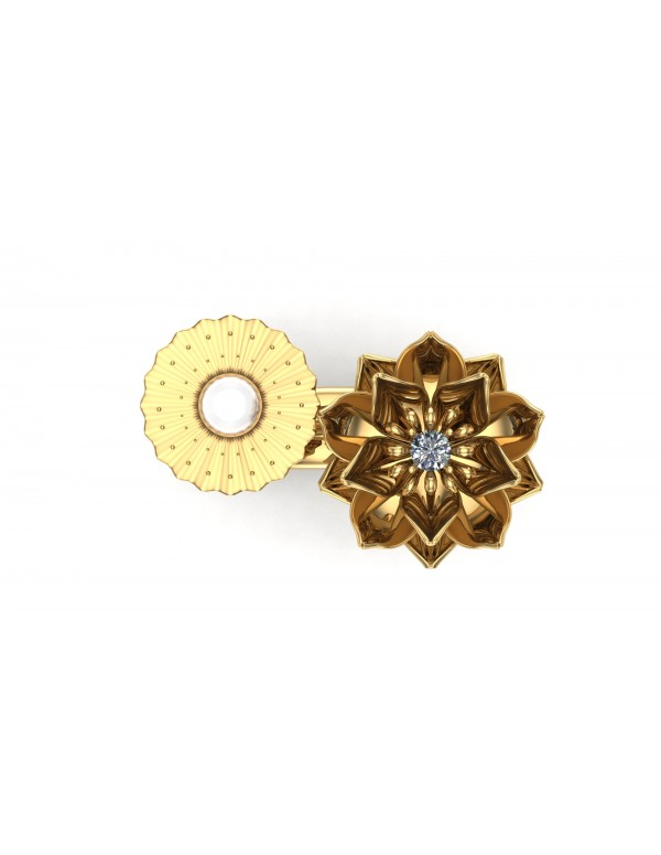 lotus-1-realism-ring-duo-type-1-in-14k-yellow-gold