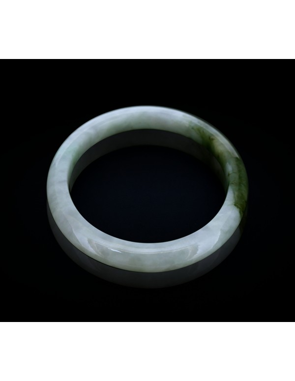 Natural Jadeite Type A-Jade Bangle (JB0065SM)