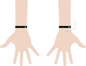 bracelet size how to measure