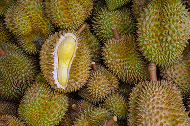 durians-in-the-market